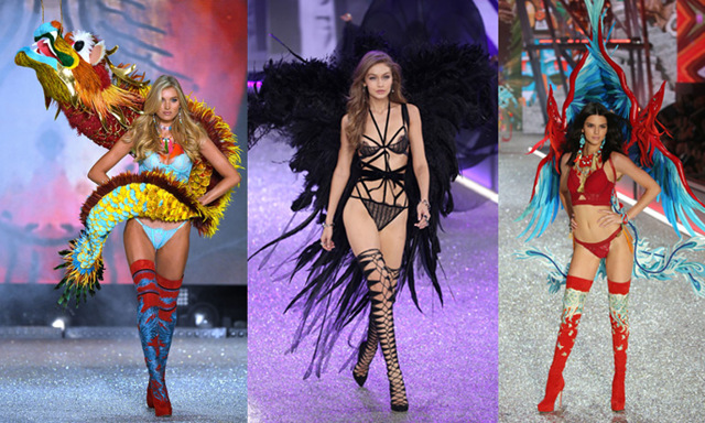 Bildbomb med alla looks från Victoria's Secret Fashion Show