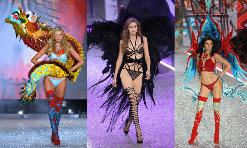 Bildspecial! Alla looks från Victoria's Secret Fashion Show 2016 i Paris