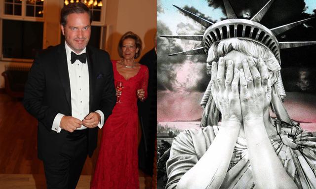 Se klippet när Prinsessan Madeleines man, Chris O'Neill får nog av Trump