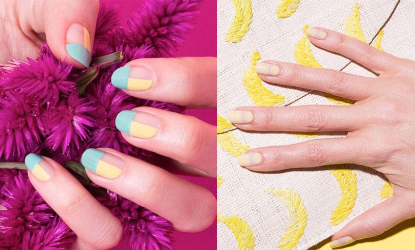 5 nageltrender att inspireras av våren 2017