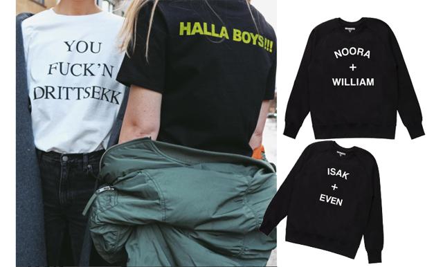 SKAM-trenden tar över: Nu vill alla bära t-shirts med norska quotes