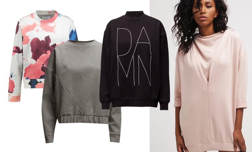 15 snygga och stilsäkra sweatshirts våren 2017