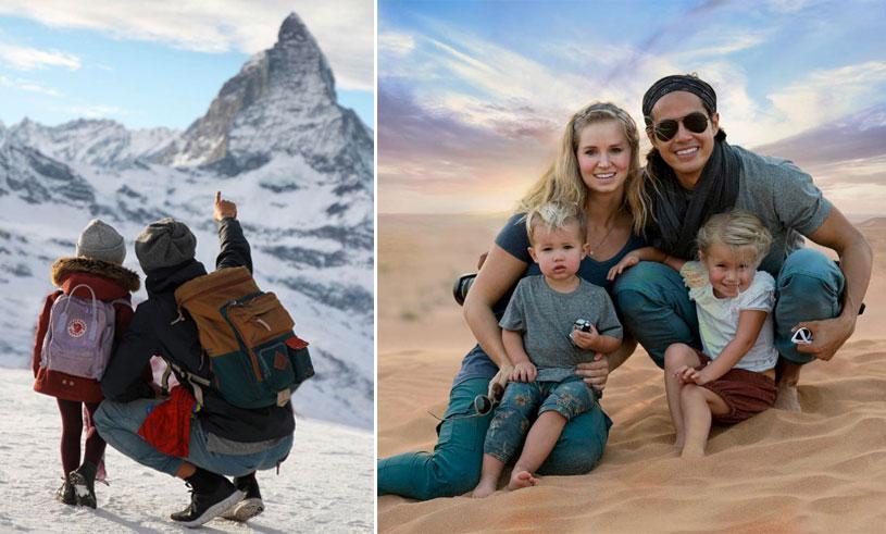 The bucket list family reser jorden runt på heltid – inspireras av deras drömliv!