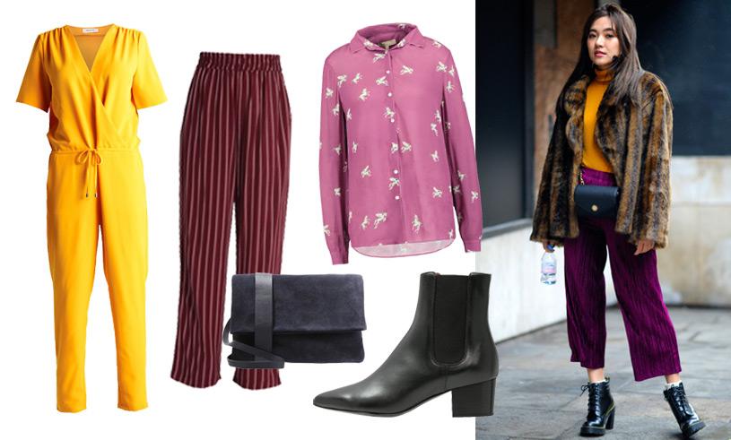 Så fixar du Fashion Week-looken – våga mixa färger, mönster och snygga snitt