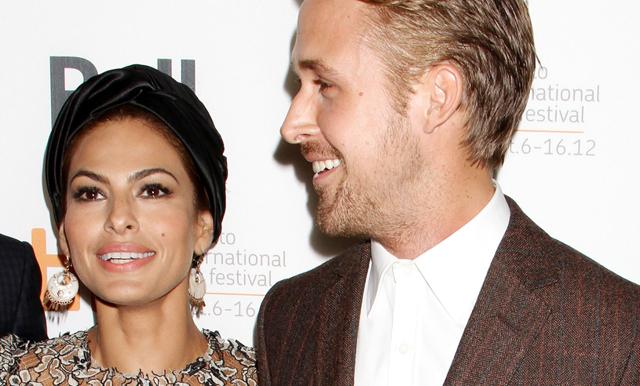 Ååh! Eva Mendes svarar i smyg på Ryan Goslings kärleksförklaring