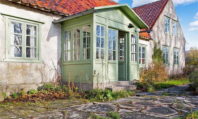 Den här charmiga gården får oss att vilja flytta till Gotland – typ nu