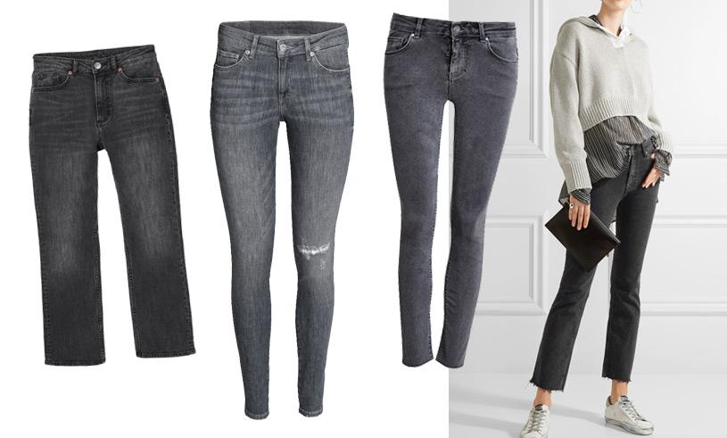 Pamela Bellafesta listar de 10 snyggaste grå jeansen – från budget till lyx