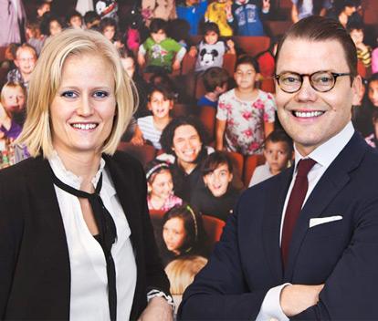 Carolina Klüft och Prins Daniel storsatsar på hälsa tillsammans med Metro