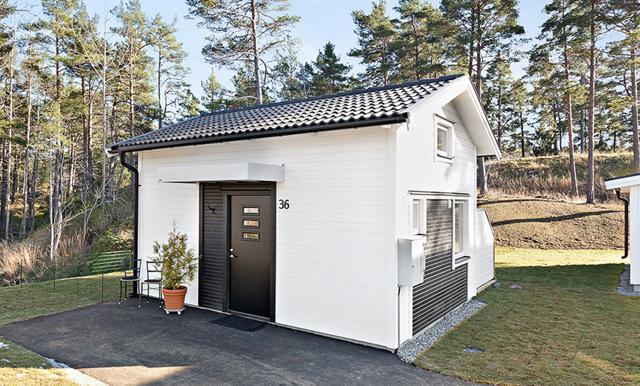 Titta in i Sveriges mest kvadratsmarta hus - på 22 kvadratmeter