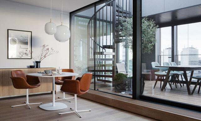 Veckans hem – Lyxig New York-dröm mitt i Stockholm
