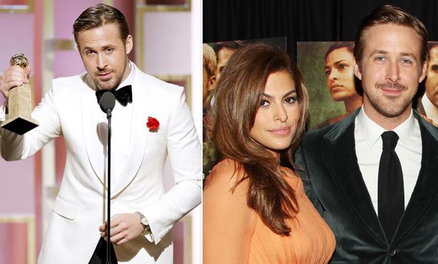 Ryan Goslings kärleksförklaring till sin fru på Golden Globes – så gulligt!