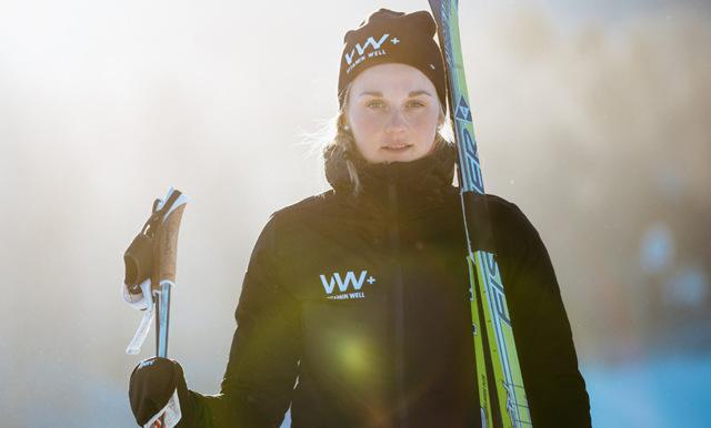 Skidstjärnan Stina Nilsson: