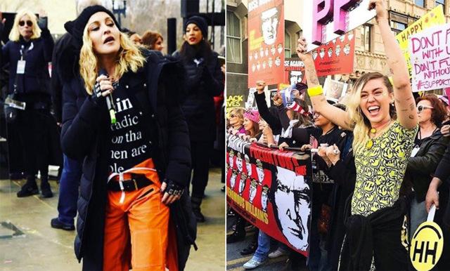 Superkvinnorna som står upp för allas rättigheter på Women´s March