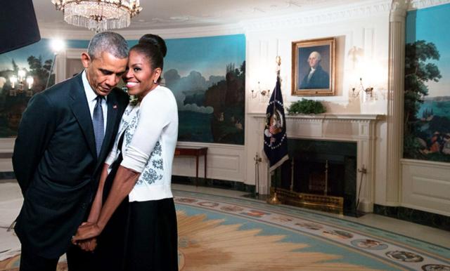 Barack och Michelles Alla Hjärtans dag-tweets är det finaste vi sett