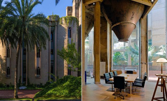 Arkitekten har arbetat med den nedlagda fabriken i över 40 år – hemmet är det häftigaste vi sett!