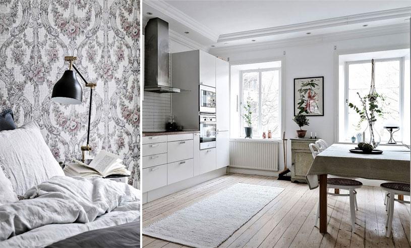 Veckans hem i Göteborg är en lyxig sekelskiftesdröm med fyra rum