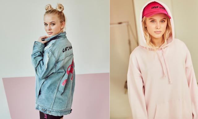 Zara Larsson släpper kollektion med H&M: