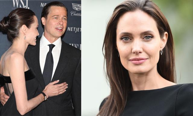 Angelina Jolie pratar ut om skilsmässan från Brad för första gången