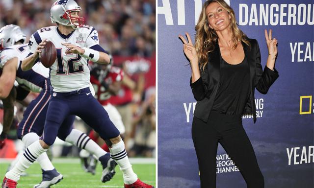 Tom Brady vinner Super Bowl - Gisele Bündchen dansar av lycka