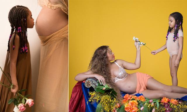 Beyoncés baby-bilder tillsammans med Blue Ivy välter internet just nu