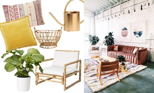 Bohemisk chic är årets finaste stil – 16 köp som fixar stilen
