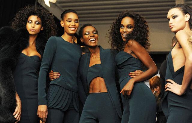 Vi kan inte förstå att det var första gången det här hände på New York Fashion Week