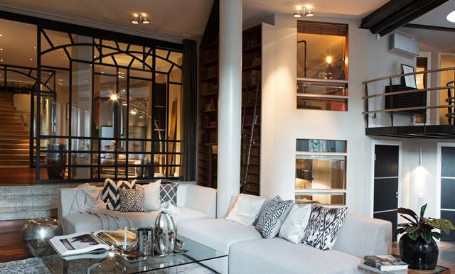 Veckans hem är en fantastisk våning i hjärtat av Södermalm
