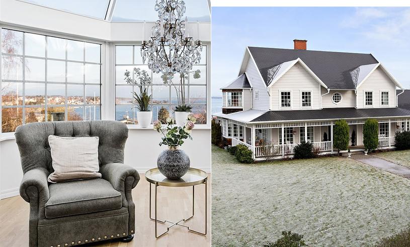 New England-villan får oss att drömma om livet i hus