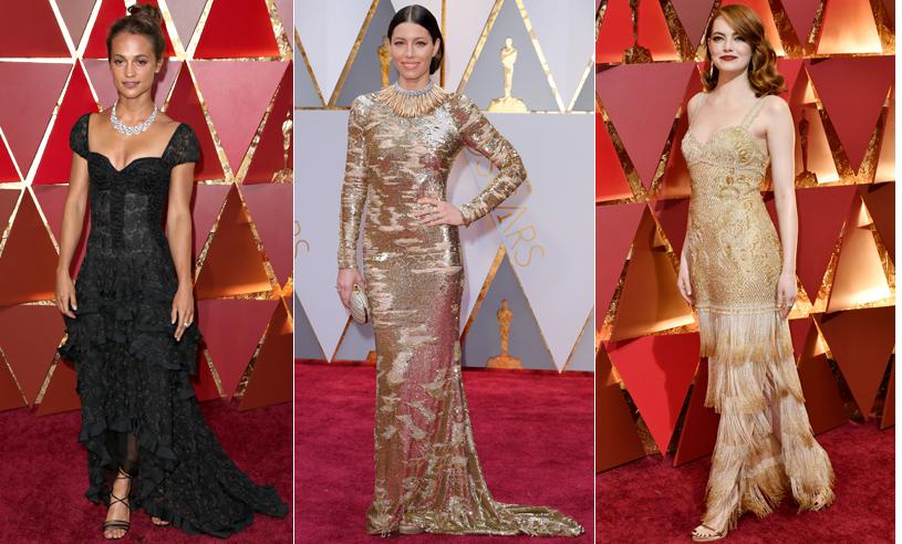 25 av de snyggaste klänningarna på Oscarsgalan 2017