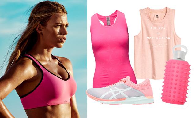 Finaste färgen på passet – 11 sköna träningskläder i rosa
