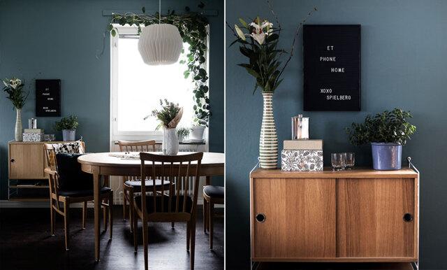 Inspireras av lägenheten som går i fyra nyanser av blått – så fint
