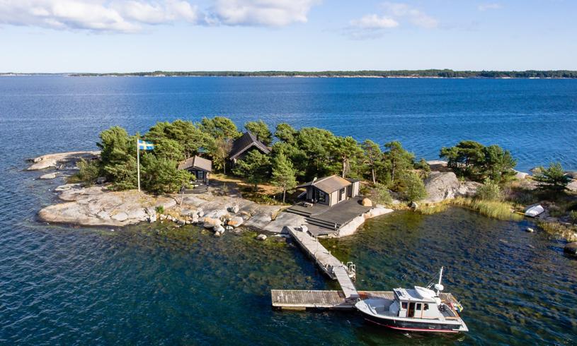 """Nu kan du köpa en (oväntat """"billig"""") egen ö i Stockholms skärgård"""