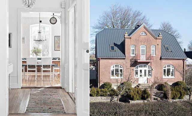 Veckans hem är den skånska 30-talsvillan med härlig lantkänsla