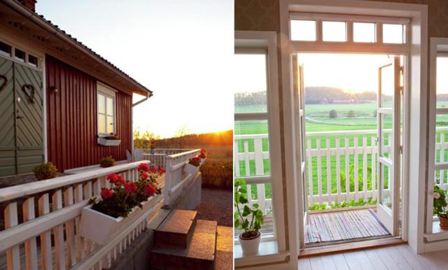 Här är huset som får oss att längta efter livet på landet