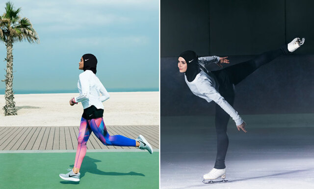 Nike vill förändra idrottsvärlden – lanserar hijab för muslimska kvinnor