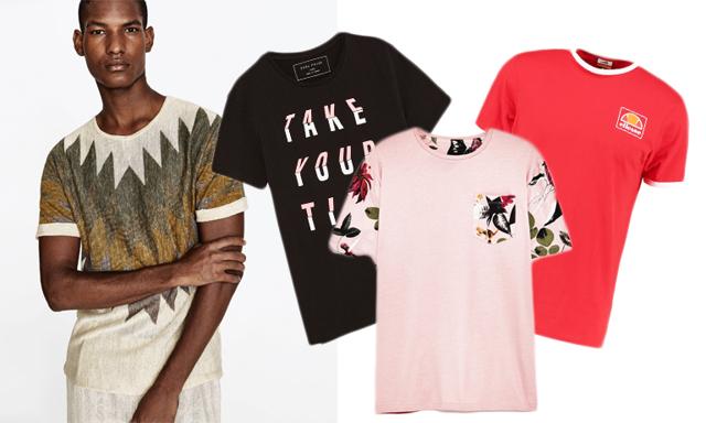 Här är de hetaste t-shirts med tryck på till sommaren