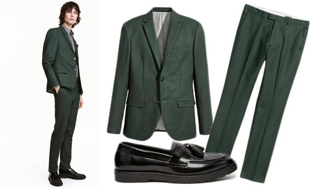 Stilsäkra kostymer i vårens hetaste färger – mörkgrön, vinröd och indigo
