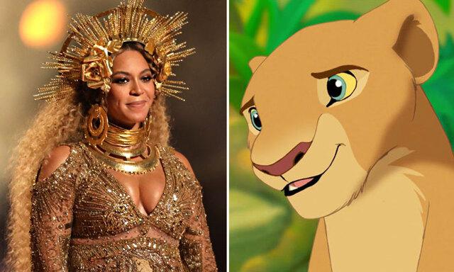 OMG! Beyoncé kommer spela Nala i nya otecknade Lejonkungen