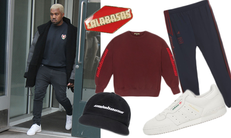 Modenyhet: Kanye West släpper ny Calabasas-kollektion med Adidas