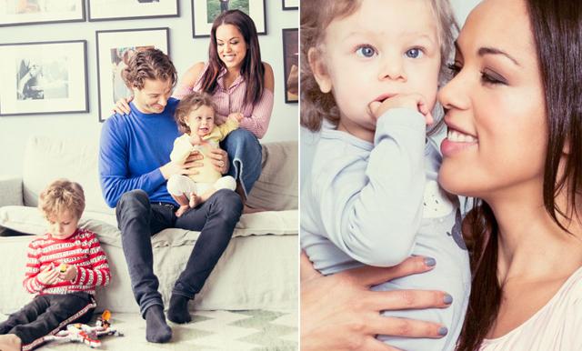Elaine Eksvärd öppnar upp om 2-åriga dottern Evelyns funktionshinder