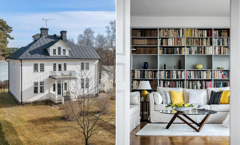 """Veckans hem: Nu kan vackra och unika """"Villa Wiraudd"""" bli ditt"""