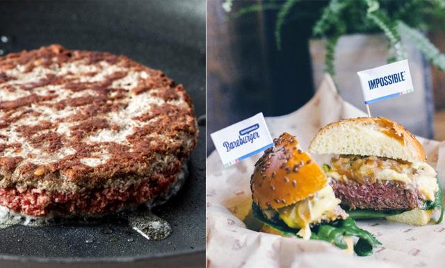 Här kan du äta den vegetariska burgaren som smakar och ser ut precis som kött