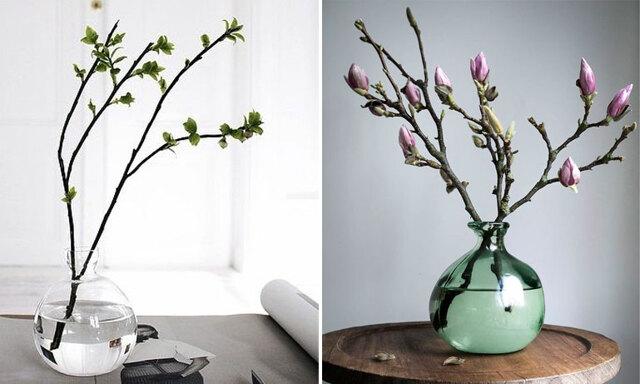 4 tips på hur du får dina kvistar att blomma i en vas