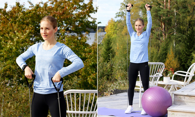 Video: Träna hela kroppen med 9 effektiva övningar