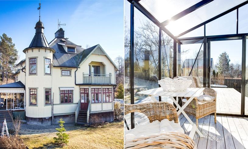 Villan med tornet från 1914 är vår största husdröm just nu