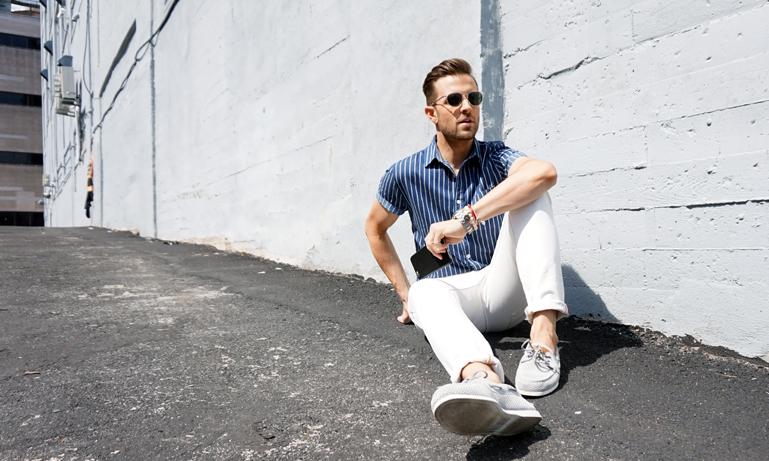 Så stylar du våren och sommarens stilrenaste plagg – vita jeans