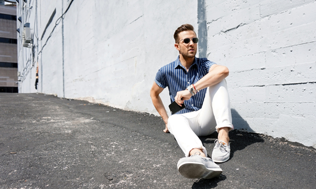 Våren och sommarens stilrenaste plagg – vita jeans