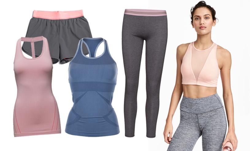 13 yogakläder i grått och pastell du inte vill vara utan våren 2017
