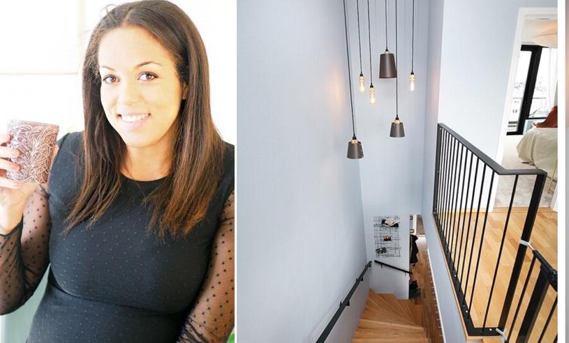 Elaine Eksvärd säljer sin lyxiga etagevåning – kolla in alla rummen här