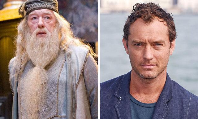 """Jude Law kommer spela en ung Dumbledore i nya """"Fantastiska vidunder"""""""
